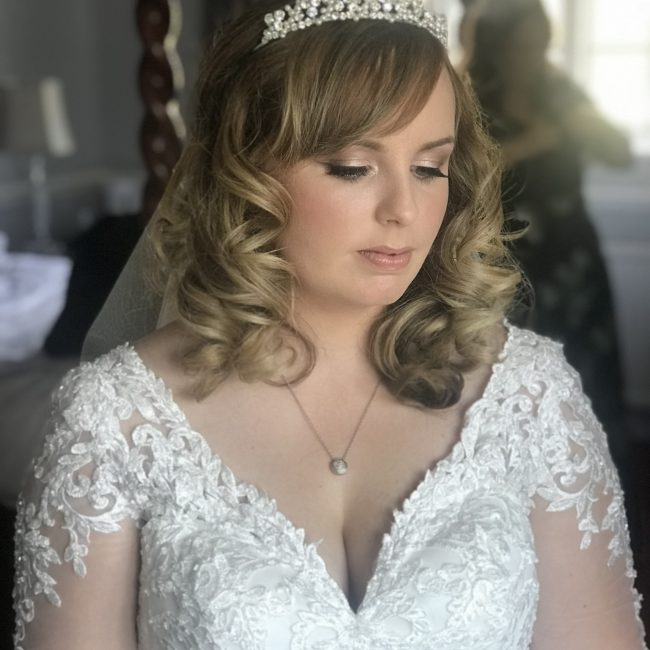 Bride - Make up by Chloe Pritchard - Bridal - Bridal Make Up - Bridal Hairstyle - Hairdresser - London, Kent, Sussex