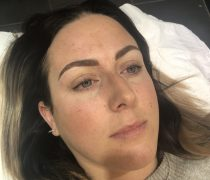 Semi Permanent - Make up by Chloe Pritch - Semi Permanent Eyebrows - Eyebrow - Before and after - Semi Permanent Tattoo - Make Up - SPMU